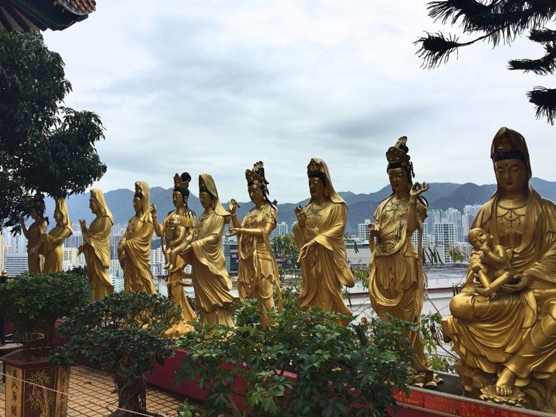 8 Free Things to Do in Hong Kong: Ten Thousand Buddhas Monastery