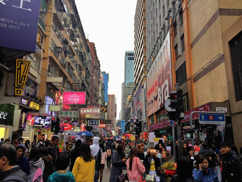 8 Free Things to Do in Hong Kong: Check out Mongkok District