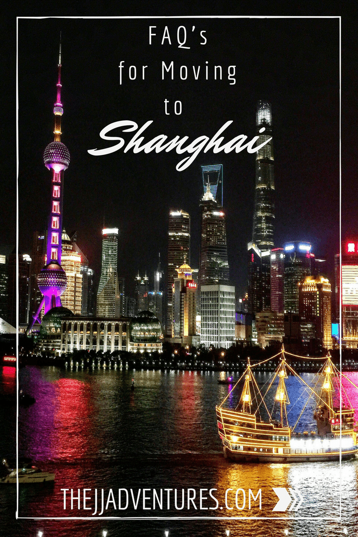 FAQ's for Moving to Shanghai